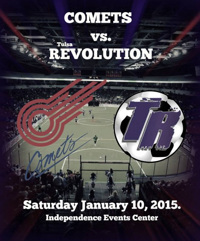 Comets Soccer Club Revolution Face The Comets on Major Arena Soccer League