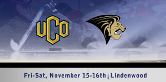 UCO Men's D1 hockey vs Lindenwood Nov. 15-16th